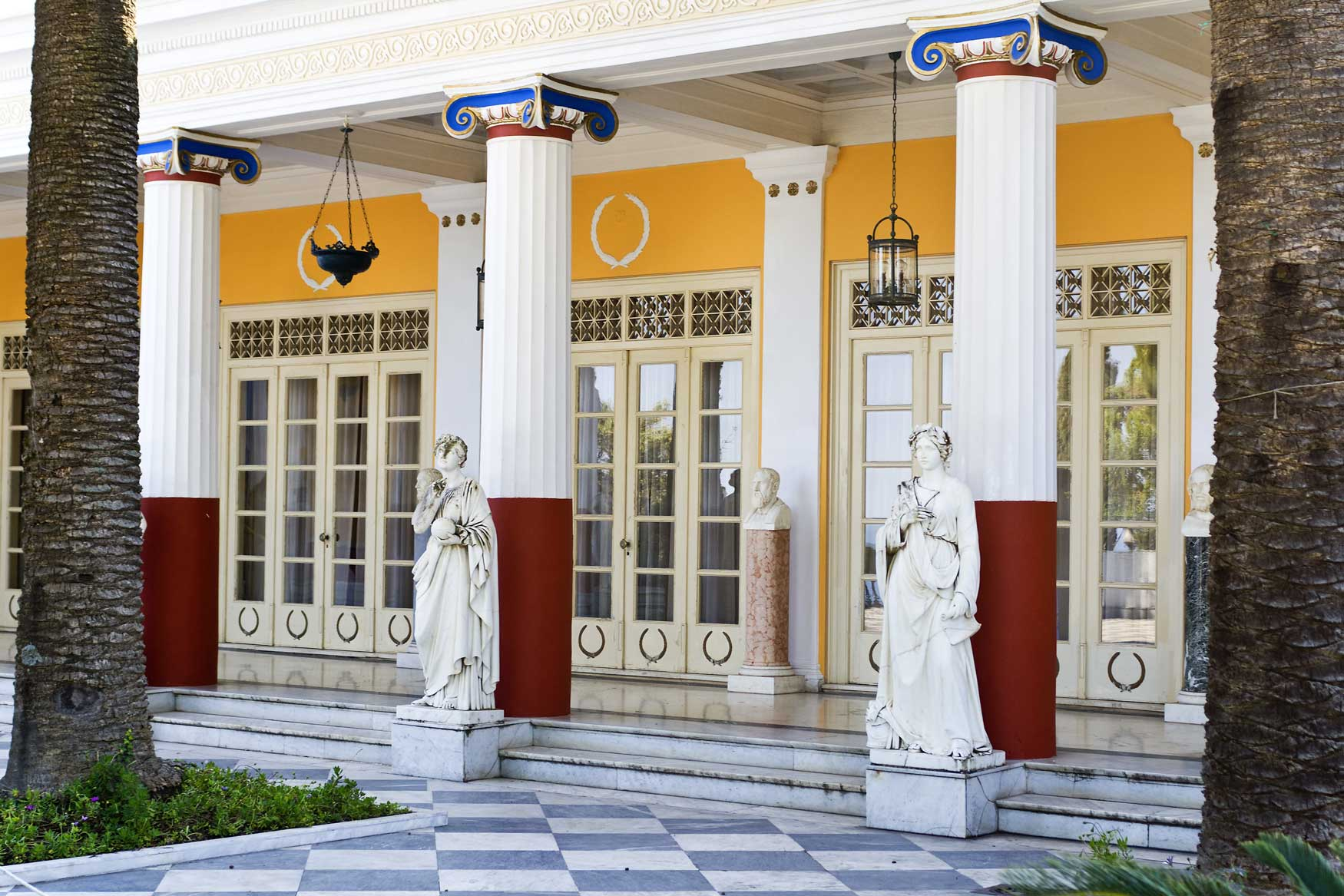 Achilleio Palace Αχίλλειο Παλάτι mykerkyra.com