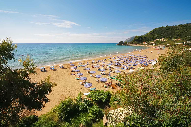 Κοντογιαλός παραλία Κέρκυρα Kontogialos beach mykerkyra.com