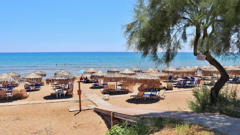 Gardenos Beach παραλία Γαρδένος mykerkyra.com