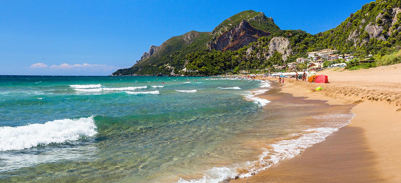 Άγιος Γόρδης Agios Gordis beach παραλία mykerkyra