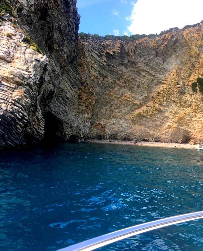 παραλία Χωμοί Paradise beach marilia makri mykerkyra.com