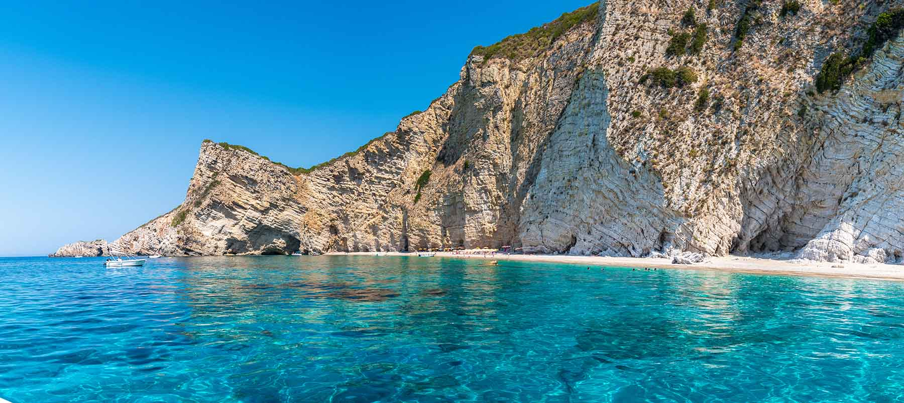 Paradise beach Liapades Corfu
