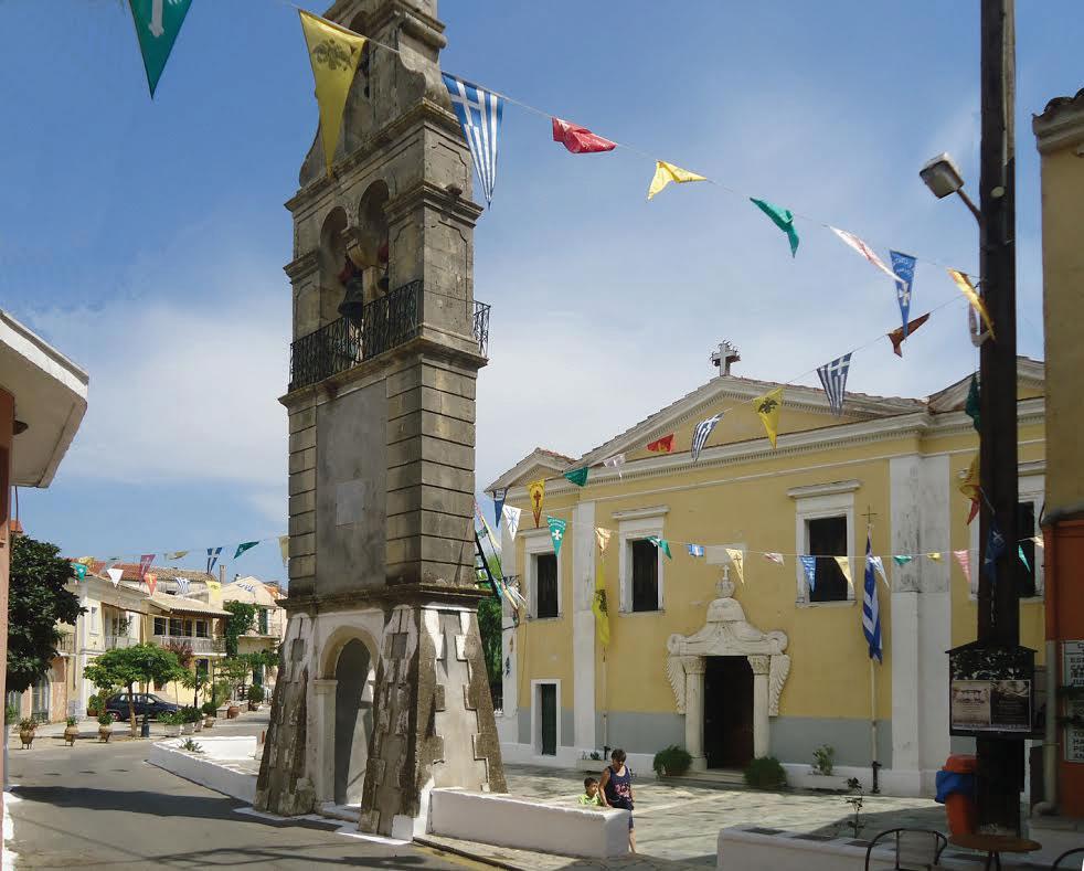 The three-aisled basilica of the Virgin Mary of Kynopiastes church mykerkyra.com