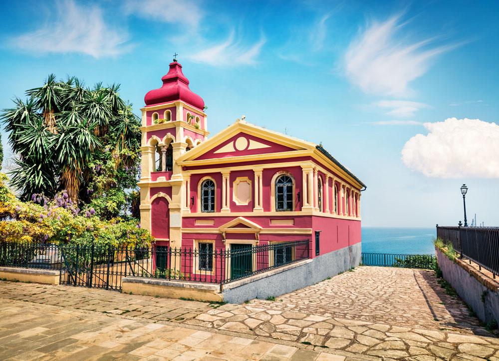 Panagia Mandrakina church Corfu