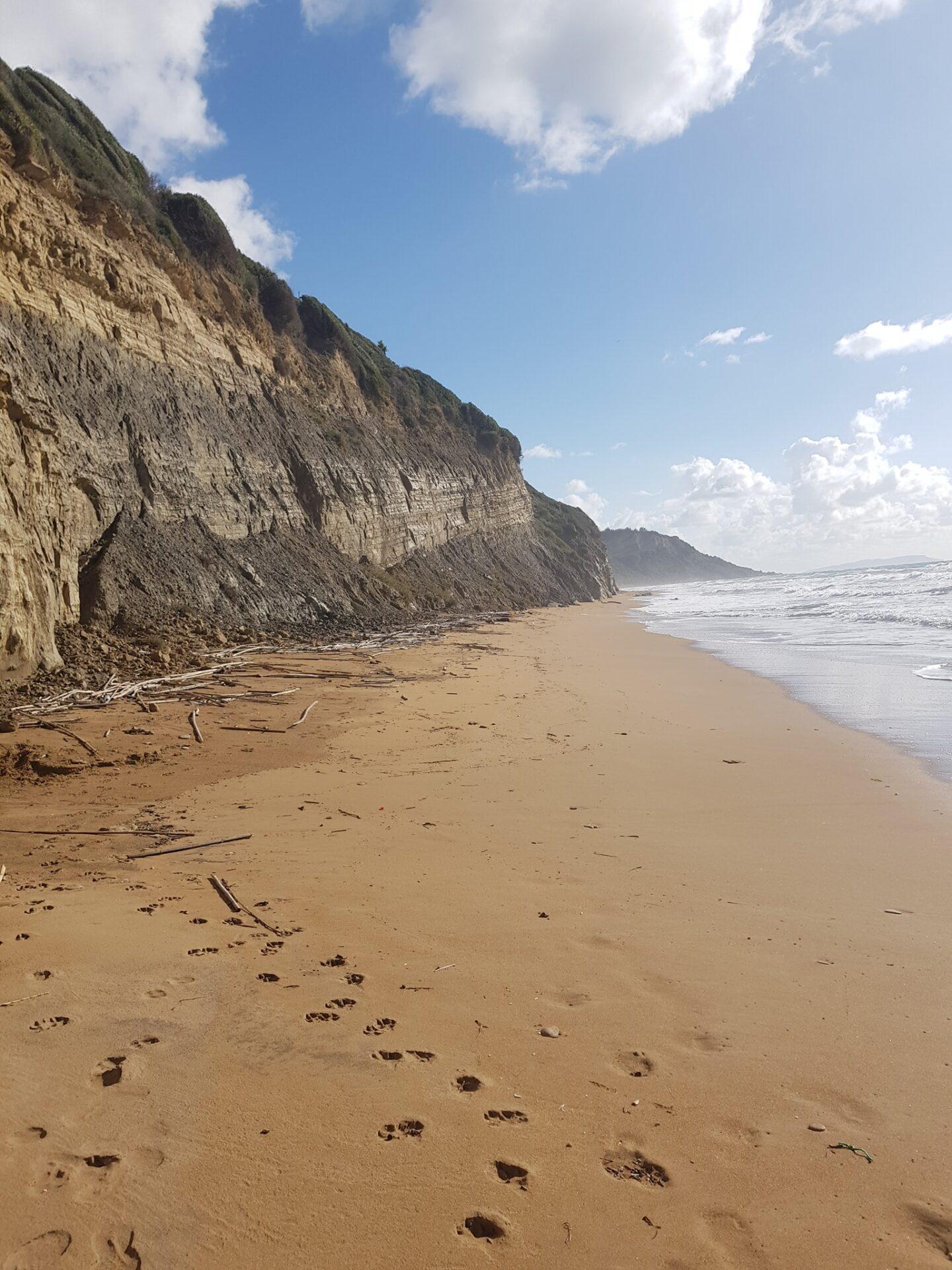 Παραλία Σάντα Μπάρμπαρα mykerkyra.com