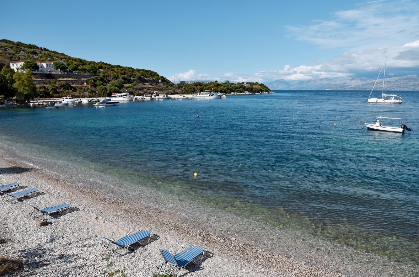 Imerolia beach Kassiopi Corfu