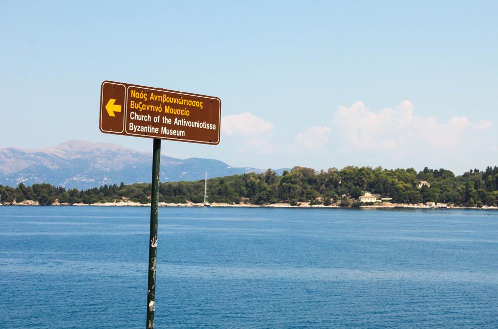 Antivouniotissa church monuments Corfu