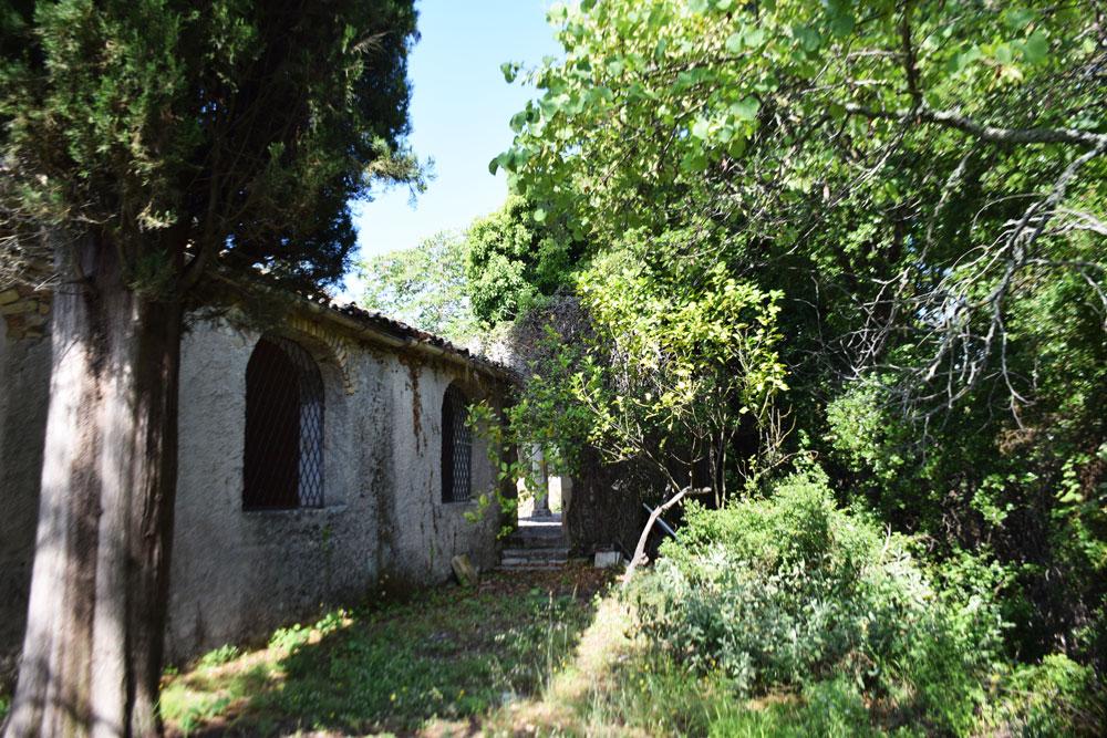 Μοναστήρι Αγίου Λουκά, Κτητορική Μονή Καποδίστρια mykerkyra.com