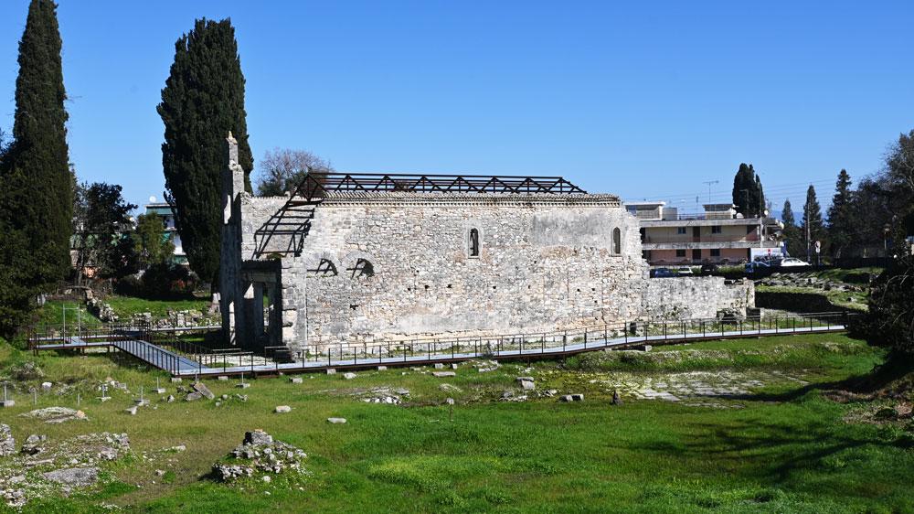 Archaeological site of Paleopolis Corfu mykerkyra.com