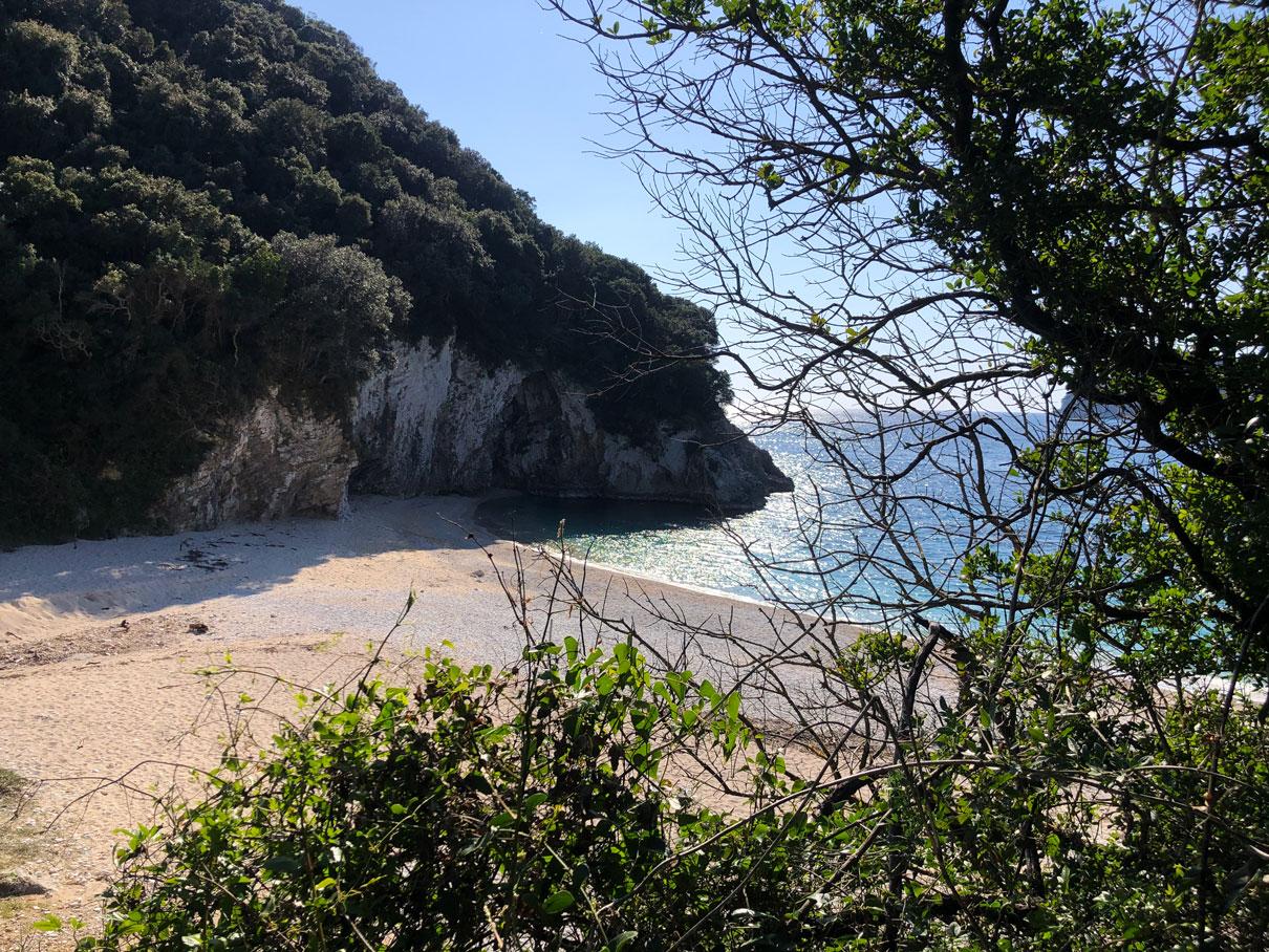 Rovinia beach Ροβινιά mykerkyra.com Marilia Makri